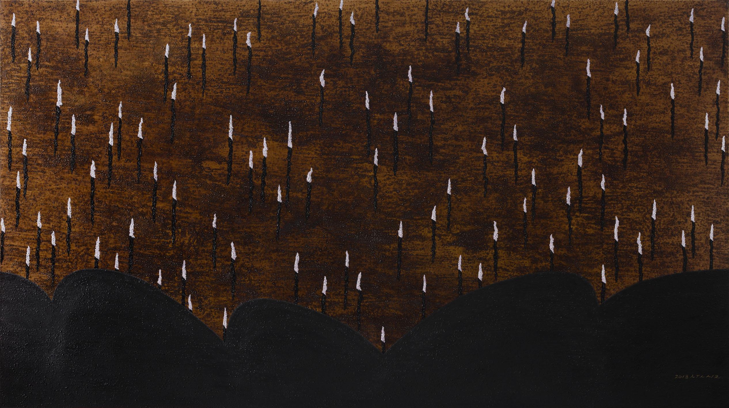 Ode to Music 1814_브람스 교향곡 제 4번 E단조 op.98_150x270cm_Acrylic and oil on canvas_2018.jpg